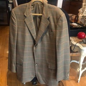 Facconable Light brown checked VIGNPRON Jacket